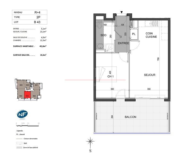 Vente de prestige appartement Antibes 340000€ - Photo 4