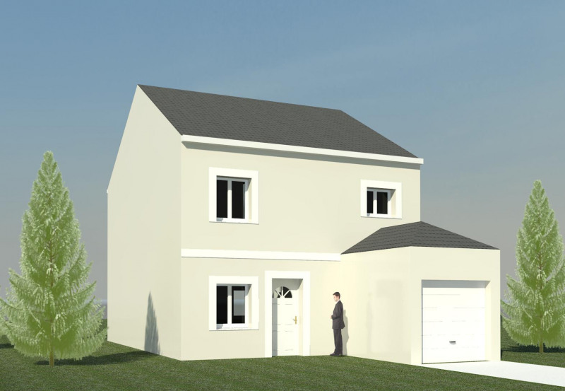 """Modèle de maison  """"Modèle de maison 5 pièces"""" à partir de 5 pièces Seine-et-Marne par MAISONS FRANCOIS G"""