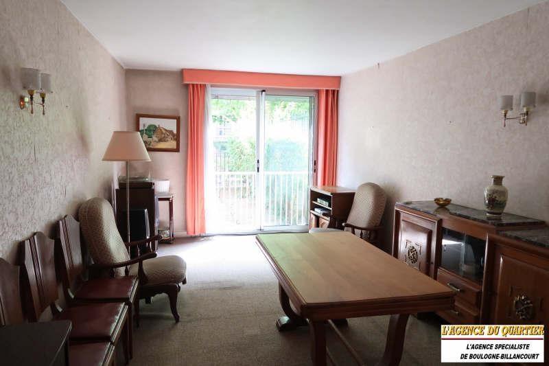 Venta  apartamento Boulogne billancourt 414000€ - Fotografía 2
