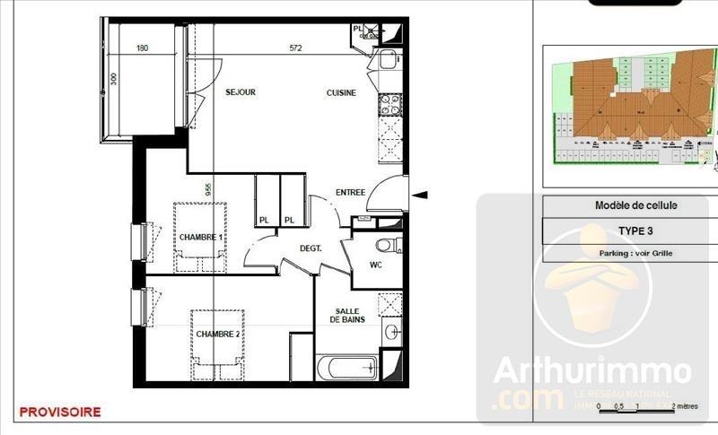 Vente appartement Gujan mestras 273000€ - Photo 3