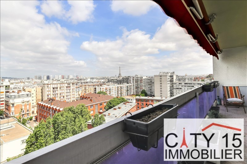 Vente de prestige appartement Paris 15ème 1 070 000€ - Photo 1