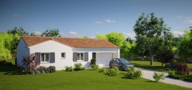 Maison  4 pièces + Terrain 552 m² Saint-Hilaire-de-Loulay par MAISONS PIERRE