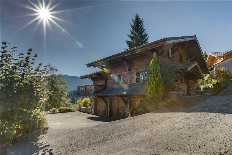 Verkoop van prestige  huis La cote d arbroz 1050000€ - Foto 2