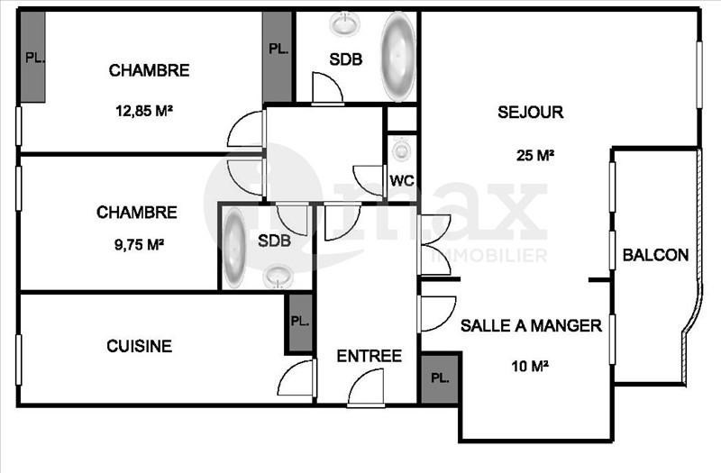 Sale apartment Courbevoie 546 000€ - Picture 5