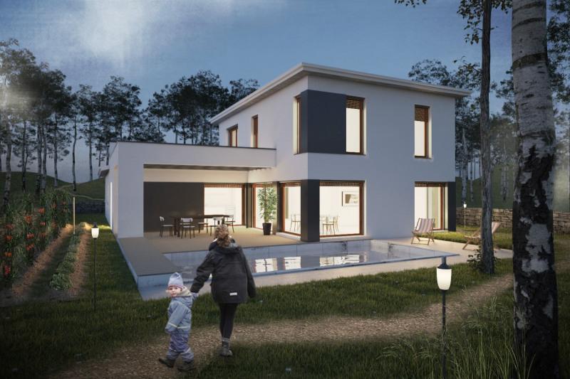 """Modèle de maison  """"Mint - Villa 146 m²"""" à partir de 5 pièces Haute-Savoie par NEHOME HABITATION"""