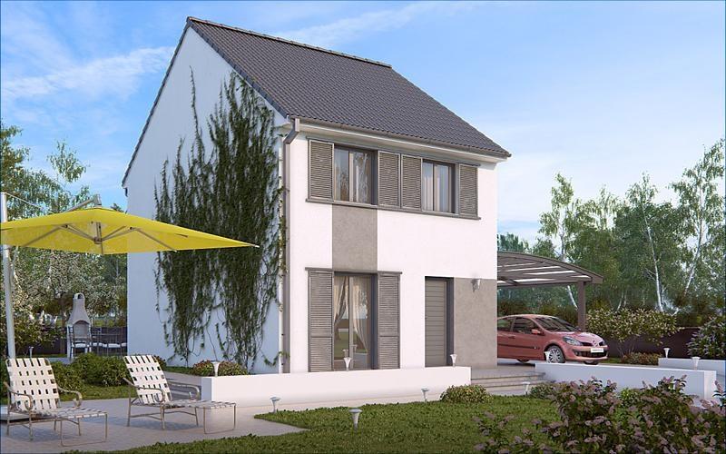 Maison  5 pièces + Terrain 8000 m² Brionne par MAISONS PIERRE