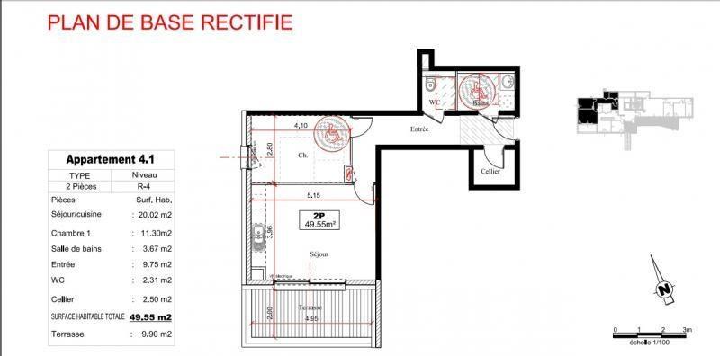 Vente appartement Obernai 262400€ - Photo 3
