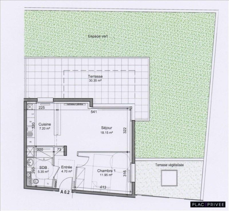 Venta  apartamento Nancy 162500€ - Fotografía 2