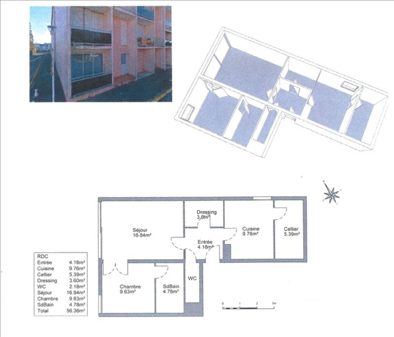 Sale apartment Biscarrosse 115000€ - Picture 1