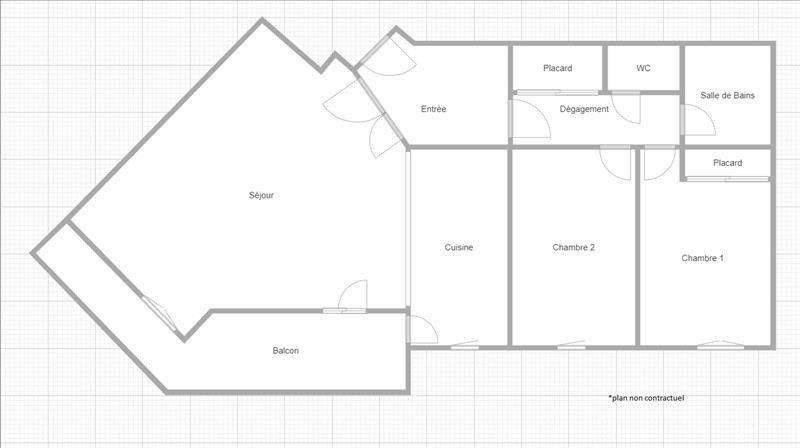 Sale apartment Suresnes 455000€ - Picture 2