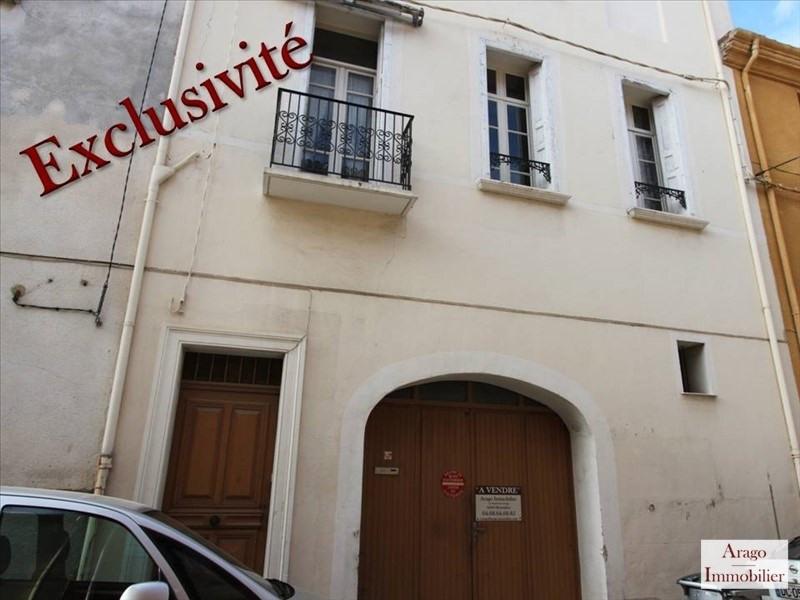 Vente maison / villa Rivesaltes 127800€ - Photo 1