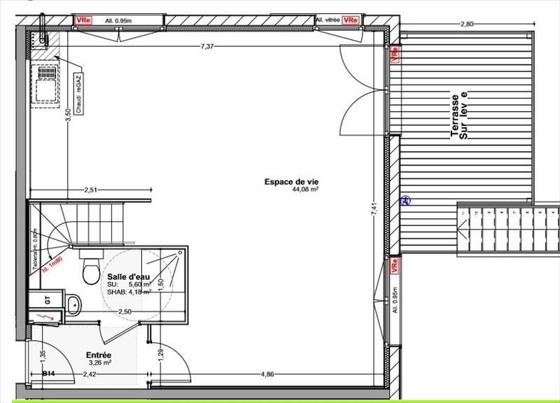 Venta  casa Vetraz monthoux 460000€ - Fotografía 2