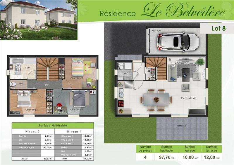 Sale house / villa Bourgoin jallieu 258000€ - Picture 2