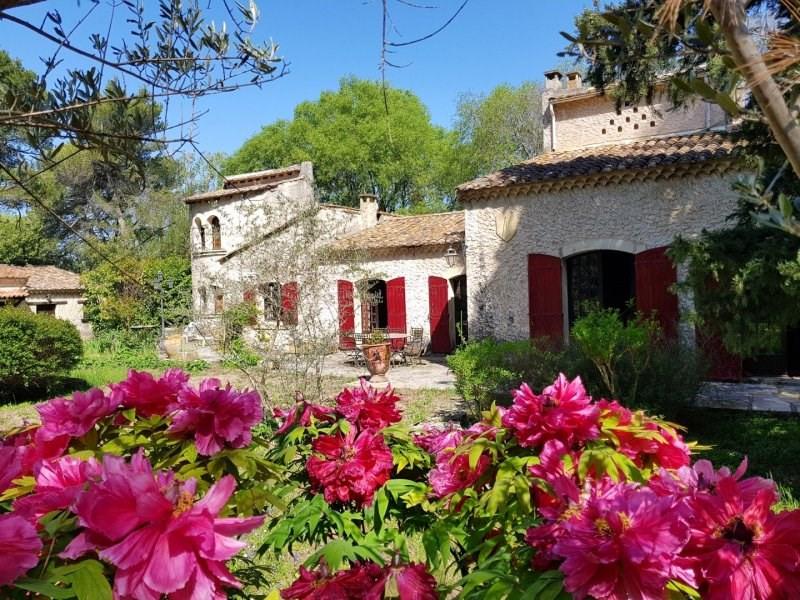Vente de prestige maison / villa Saint etienne du gres 890000€ - Photo 1