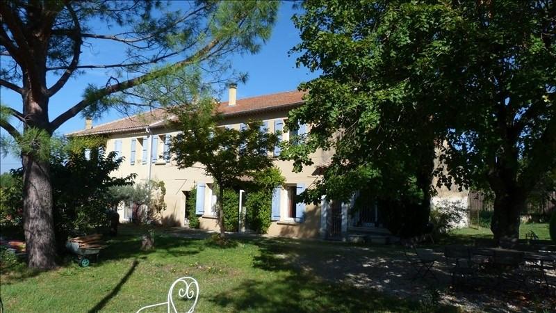 Deluxe sale house / villa Aubignan 440000€ - Picture 1