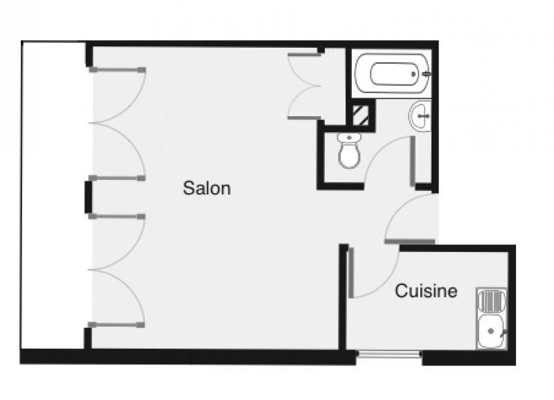 Location appartement Palaiseau 598€ CC - Photo 2
