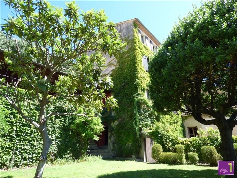 Deluxe sale house / villa Uzes 799000€ - Picture 1
