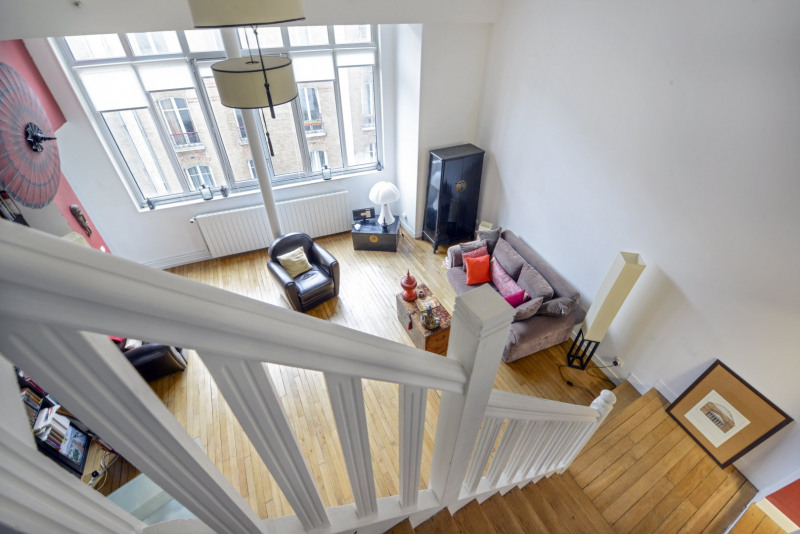 Vente de prestige appartement Paris 18ème 1145000€ - Photo 5