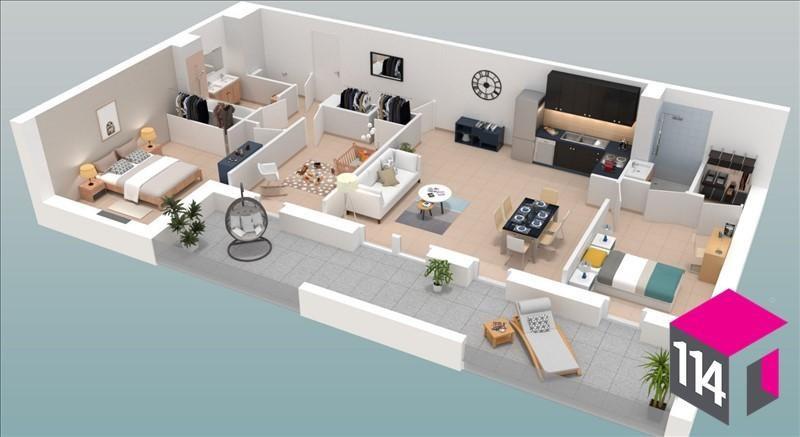 Sale apartment St bres 259900€ - Picture 2