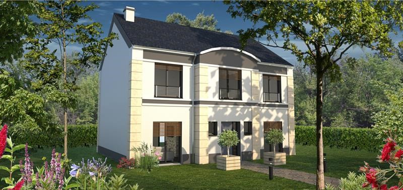 Maison  6 pièces + Terrain 585 m² Rambouillet (78120) par LES MAISONS BELL  LES MAISONS ATLANTIS  LES ARCHITECTURIALES