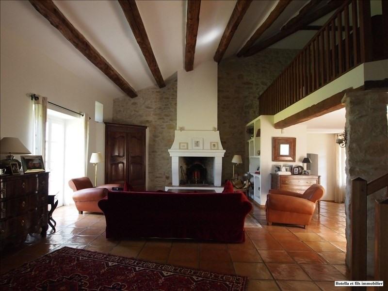 Vente de prestige maison / villa Uzes 795000€ - Photo 1