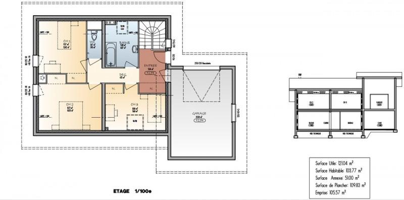 Sale house / villa Saint-martin-bellevue 533500€ - Picture 3