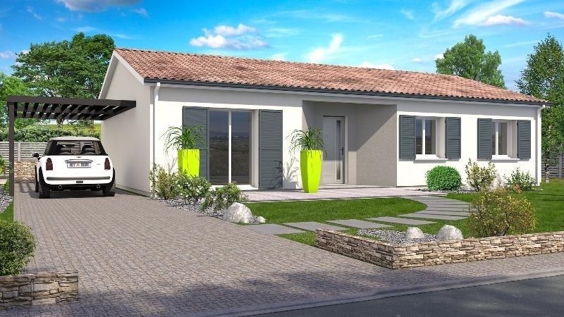 Maison  4 pièces + Terrain 676 m² Roquefort par SIC HABITAT