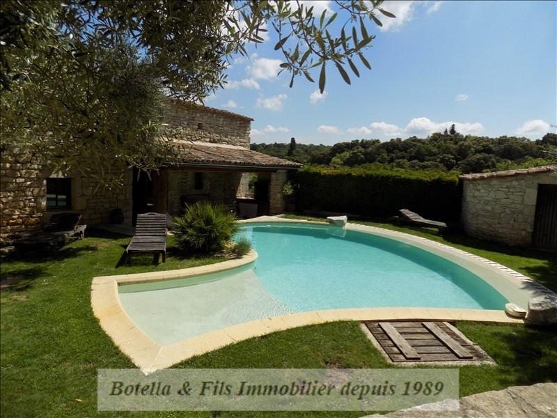 Deluxe sale house / villa Barjac 489500€ - Picture 3
