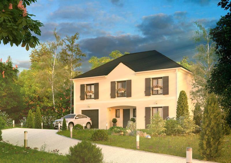 """Modèle de maison  """"Cibelle 4.152 GI"""" à partir de 6 pièces Seine-Saint-Denis par A&A CONSEIL"""