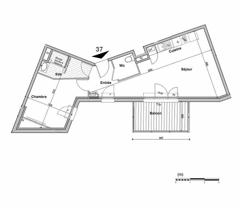 Vente appartement La teste 215000€ - Photo 2