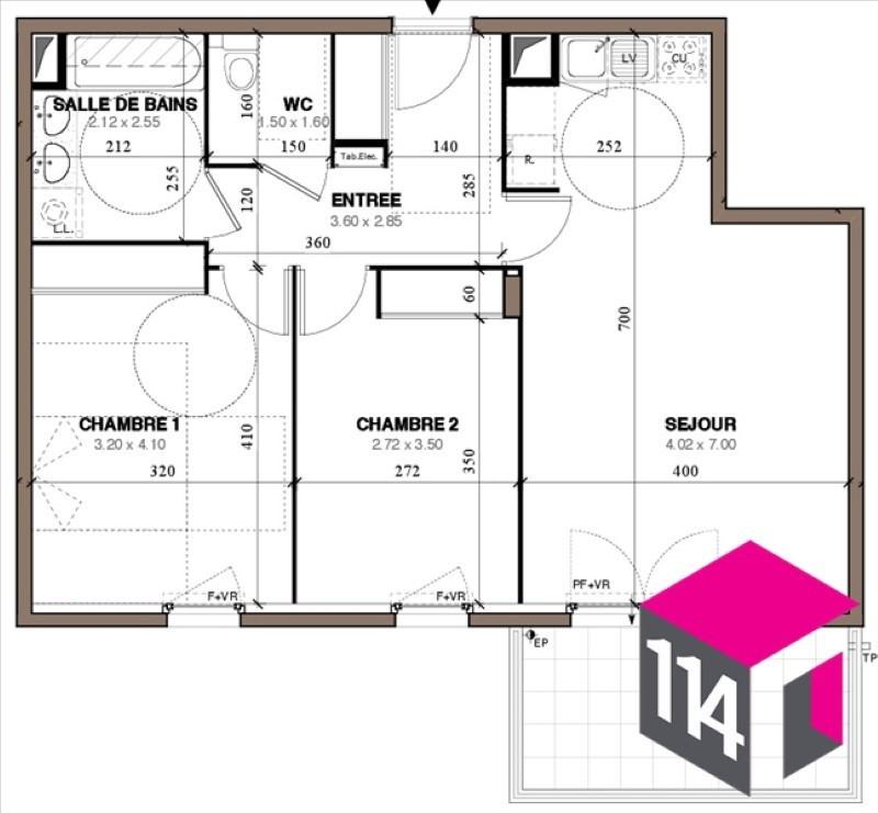 Sale apartment Montpellier 282900€ - Picture 4