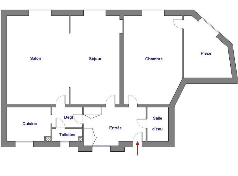 Vente appartement Paris 12ème 582000€ - Photo 7