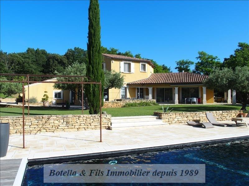 Deluxe sale house / villa Uzes 789500€ - Picture 1