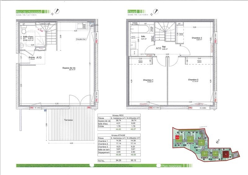 Vente appartement Gaillard 424500€ - Photo 2