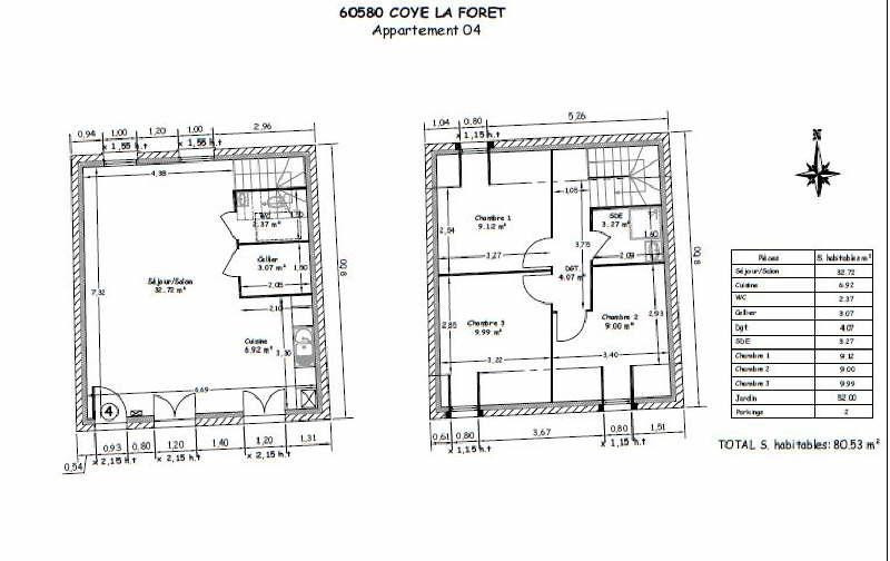 Sale house / villa Coye la foret 314067€ - Picture 3