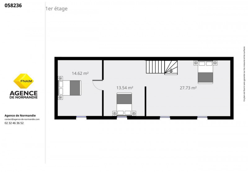 Sale house / villa La ferte-frenel 55000€ - Picture 7