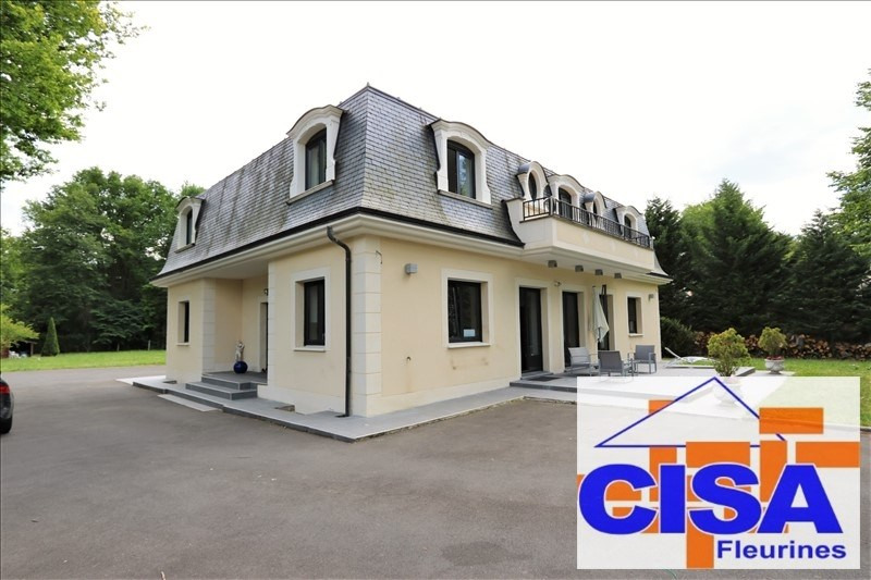 Vente de prestige maison / villa Lamorlaye 830000€ - Photo 1