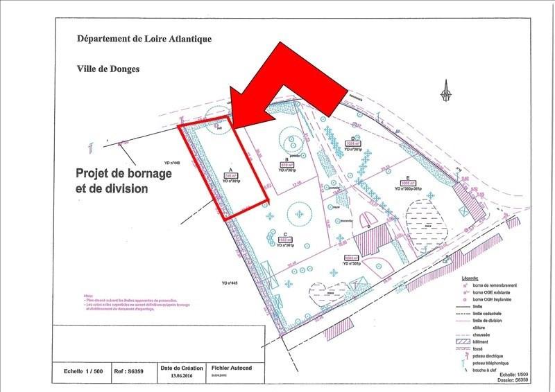 Vente terrain Donges 40000€ - Photo 2