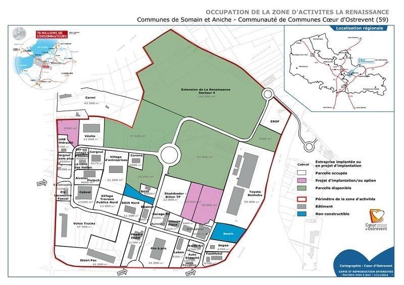 Location Local d'activités / Entrepôt Aniche 0