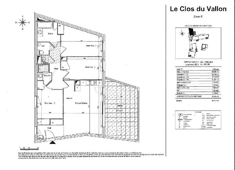 Vendita appartamento St didier au mont d or 440000€ - Fotografia 3