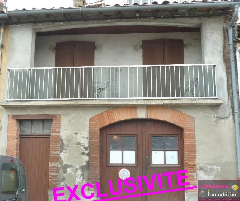Vente maison / villa Caraman  centre 105000€ - Photo 1