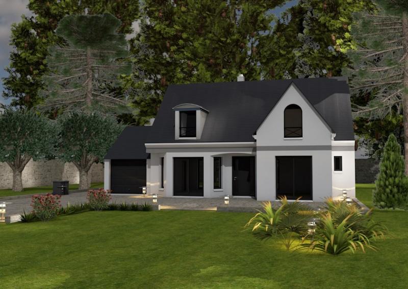 """Modèle de maison  """"Modèle de maison 4 pièces"""" à partir de 4 pièces Essonne par MAISONS ATLANTIS"""