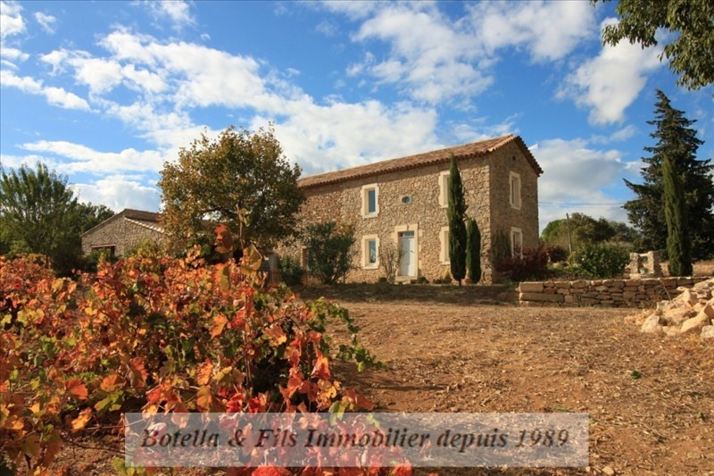 Deluxe sale house / villa Uzes 579 000€ - Picture 1