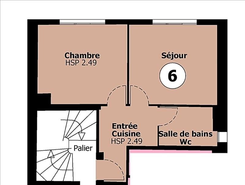 Vente appartement Montreuil 112500€ - Photo 5