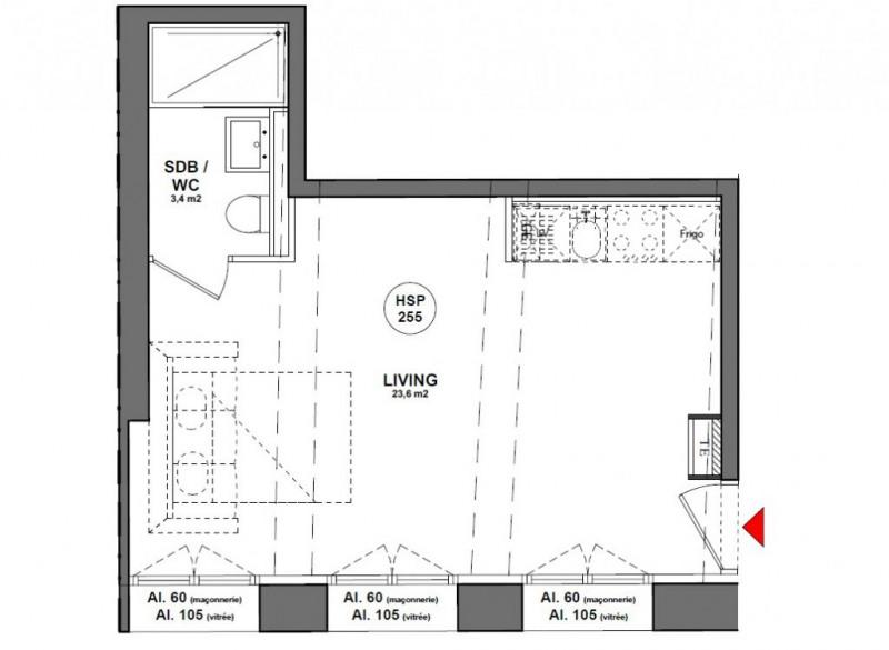 Vente appartement Lyon 1er 148000€ - Photo 1