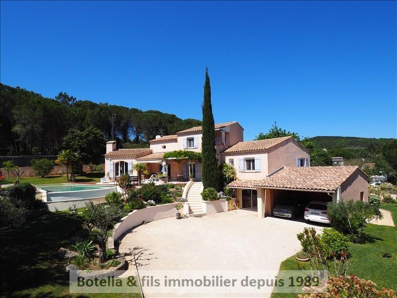 Vente de prestige maison / villa Goudargues 485000€ - Photo 2