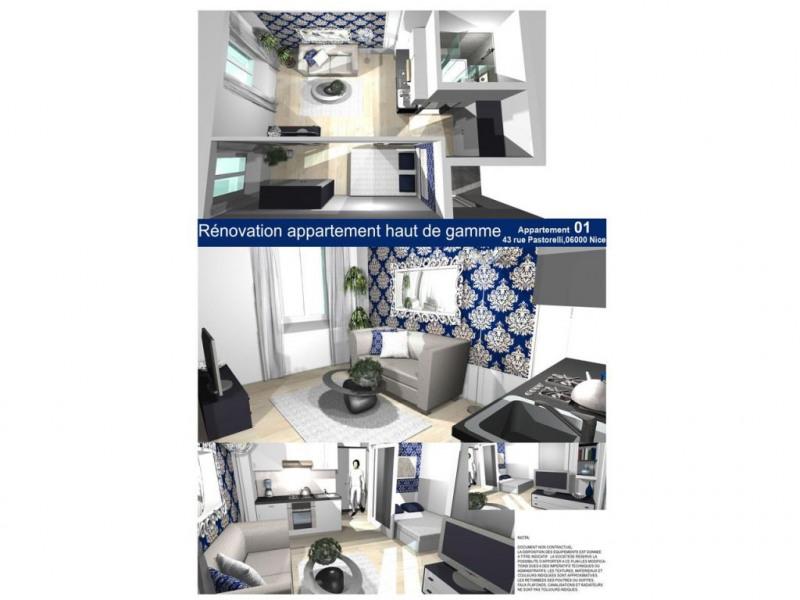 Vente appartement Nice 220000€ - Photo 1