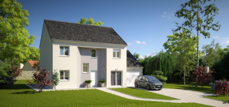 Maison  5 pièces + Terrain 700 m² Villiers-le-Sec par MAISONS PIERRE