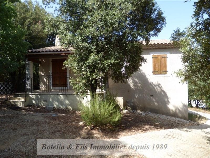 Sale house / villa Barjac 180000€ - Picture 1