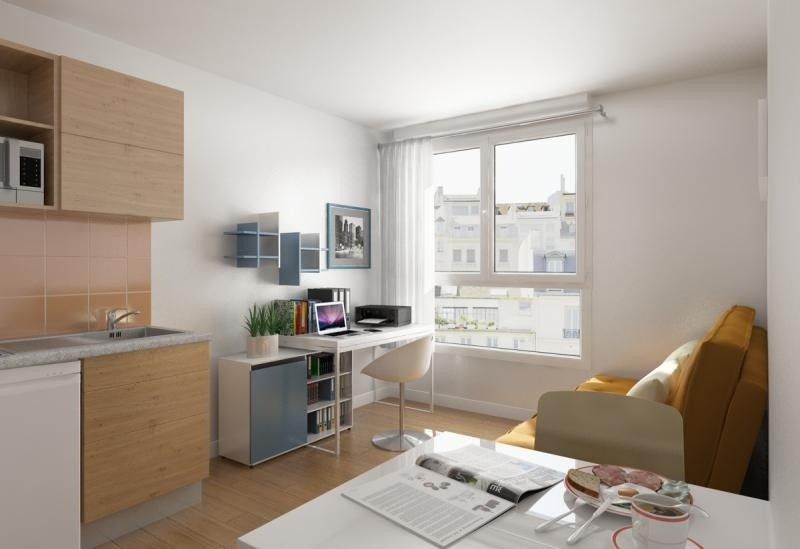 Investment property apartment Montpellier 95 500€ - Picture 2
